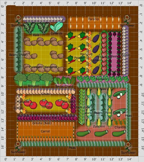 Garden Plan - 2014: veggie garden