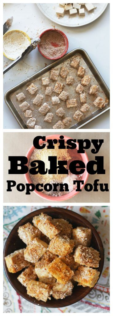 Our crispy baked popcorn tofu are delicious golden protein-rich nuggets that are perfect as a snack, in wraps, or on salads.