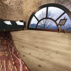 Three layer planks - Antique Bleached natural Oiled - brushed - LIGHT TONE WOOD FLOOR / Listoni tre strati - Larice Sbiancato spazzolato oliato antico - LARICE SBIANCATO