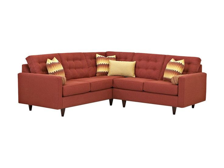 Klaussner Living Room Craven Sectional   Furniture Showcase   Stillwater, OK
