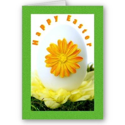 $3.35 #cards #easter #zazzle #elenaindolfi Happy Easter Greetings Card by elenaindGreeting Card