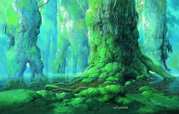 「天空の城ラピュタ」などの背景画家、山本二三のリアリティに触れる。