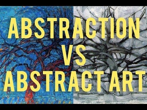 Monday Minute: Abstraction vs. Abstract Art, Art Terms Explained