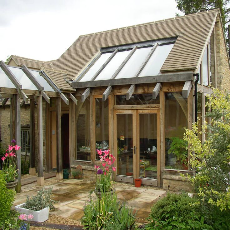 Garden room and oak framed conservatory my future home for Pinterest garden rooms