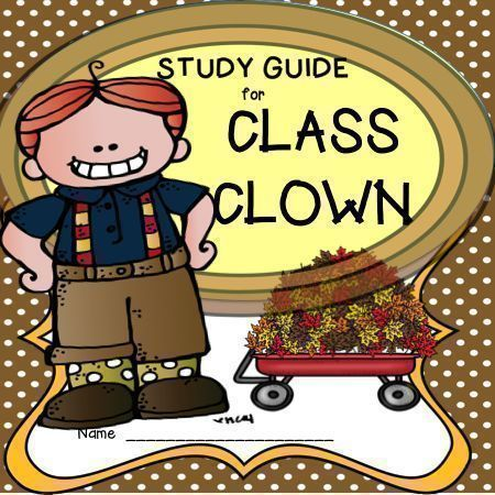 48 best literature units images on pinterest classroom ideas class clown by johanna hurwitz is a popular first chapter book for many students this fandeluxe Choice Image