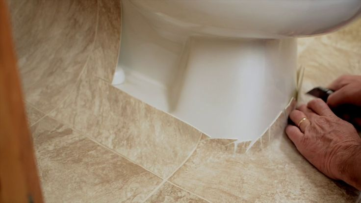 Best of how to install vinyl flooring in bathroom without