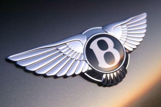 bentley trunk emblem 1