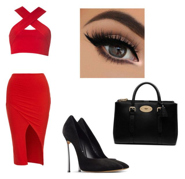 Untitled #7 by malineiksa on Polyvore featuring polyvore, fashion, style, Motel, Casadei and Mulberry