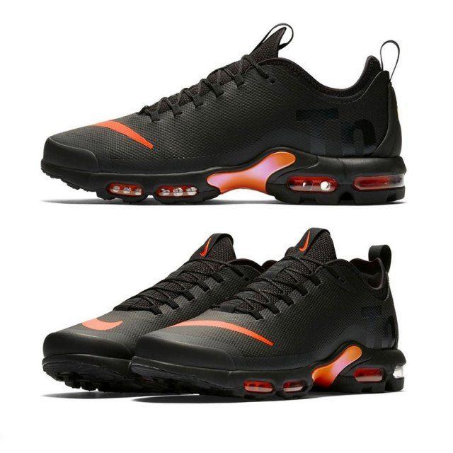 f52a5cd322b3b8 Top Quality Nike Air Max Mercurial TN Vapor Black Orange in  sneakersclue.com