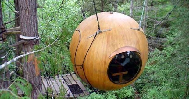 Free Spirit Spheres  Vancouver