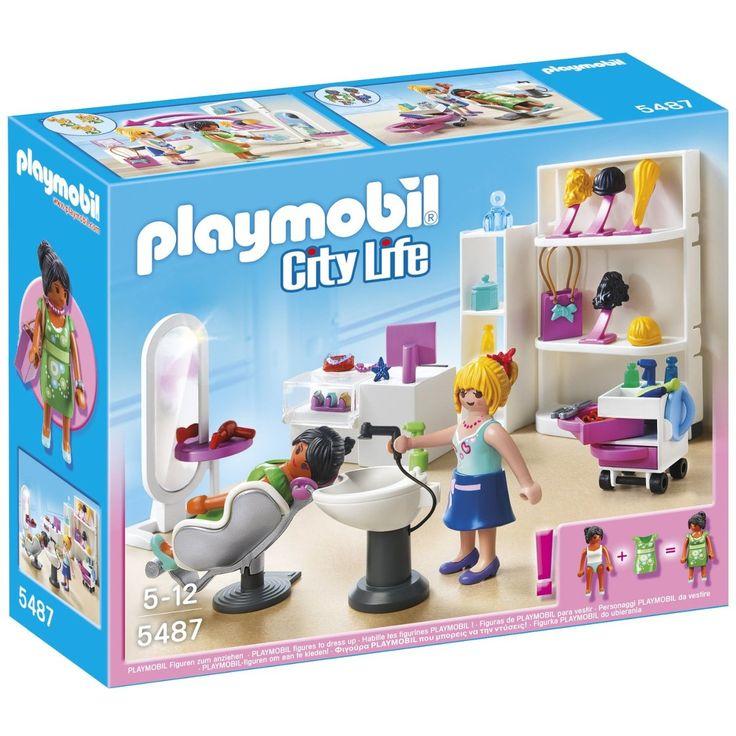 Playmobil Set figurine - Salon de infrumusetare - Set figurine copii coafor Toate doamnele si domnisoarele din Playville isi doresc sa fie frumoase si ingrijite, de aceea unul… 3PITICI.RO