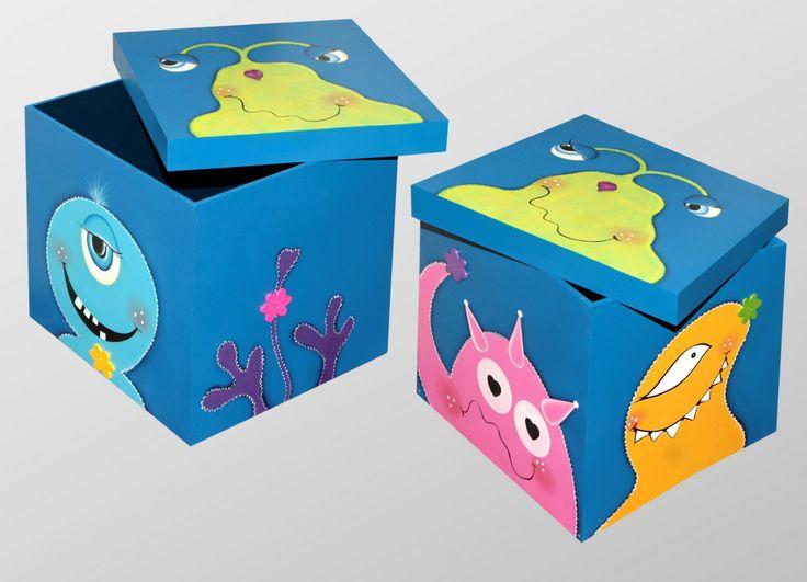 pintura cajas nenes