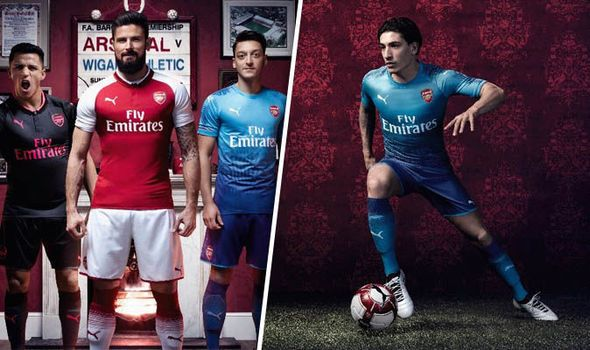Arsenal 2017/18 away kit launch: Ozil and Bellerin model blue shirt as new strip unveiled   via Arsenal FC - Latest news gossip and videos http://ift.tt/2vLEwvR  Arsenal FC - Latest news gossip and videos IFTTT