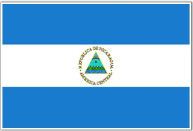 Flag of #nicaragua♦️More Pins Like This At FOSTERGINGER @ Pinterest ♦️
