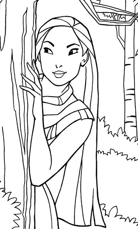 31 best Pocahontas Coloring Pages images on Pinterest Pocahontas