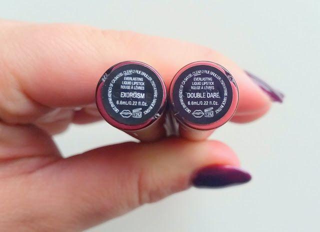 Product Review - Kat Von D Everlasting Liquid Lipstick