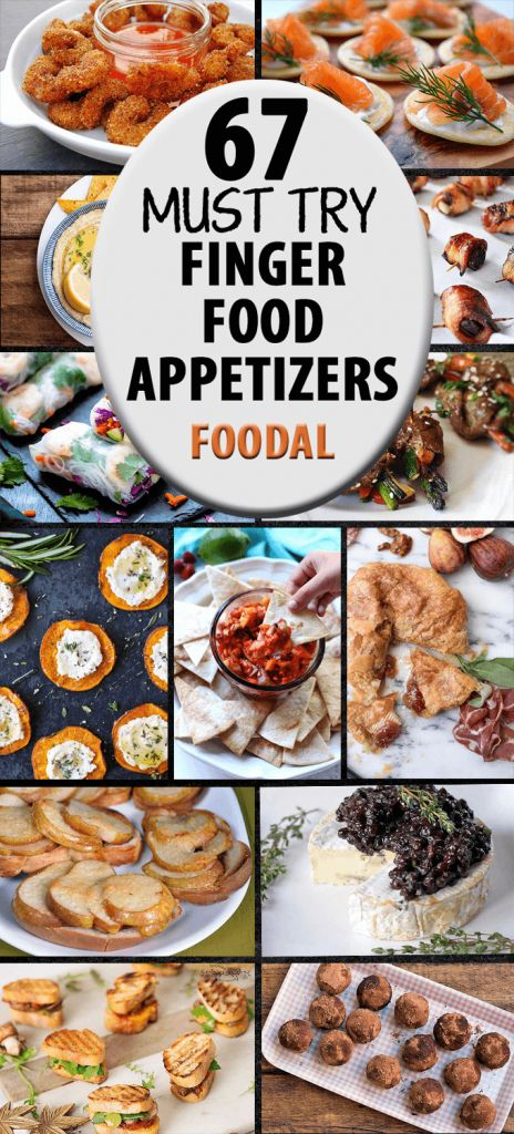 67 Finger Food Appetizers that Are Perfect for Holiday Parties