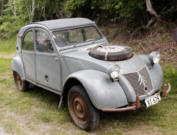 1965 Citroen Sahara 4x4 with 2 engine. only 694 made 1960 to 1971.