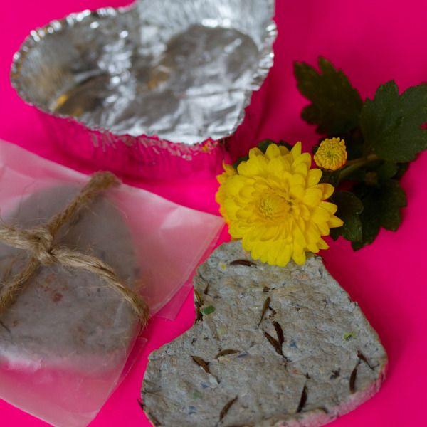 Make Plantable Seed Paper Valentines!