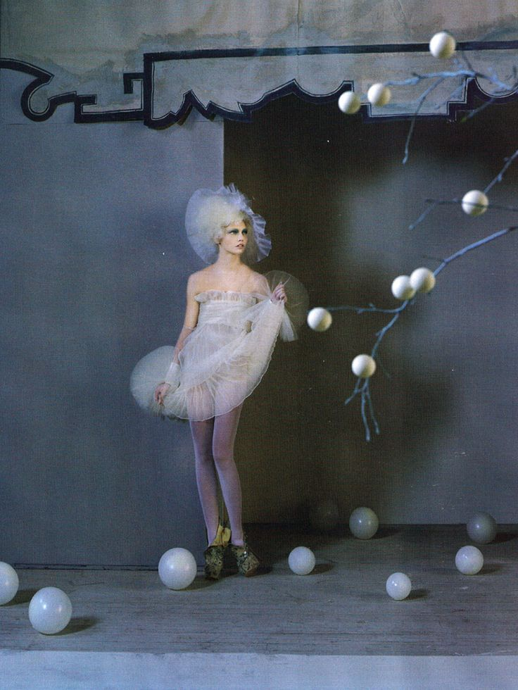 Sasha Pivovarova by Tim Walker for Vogue UK March 2010