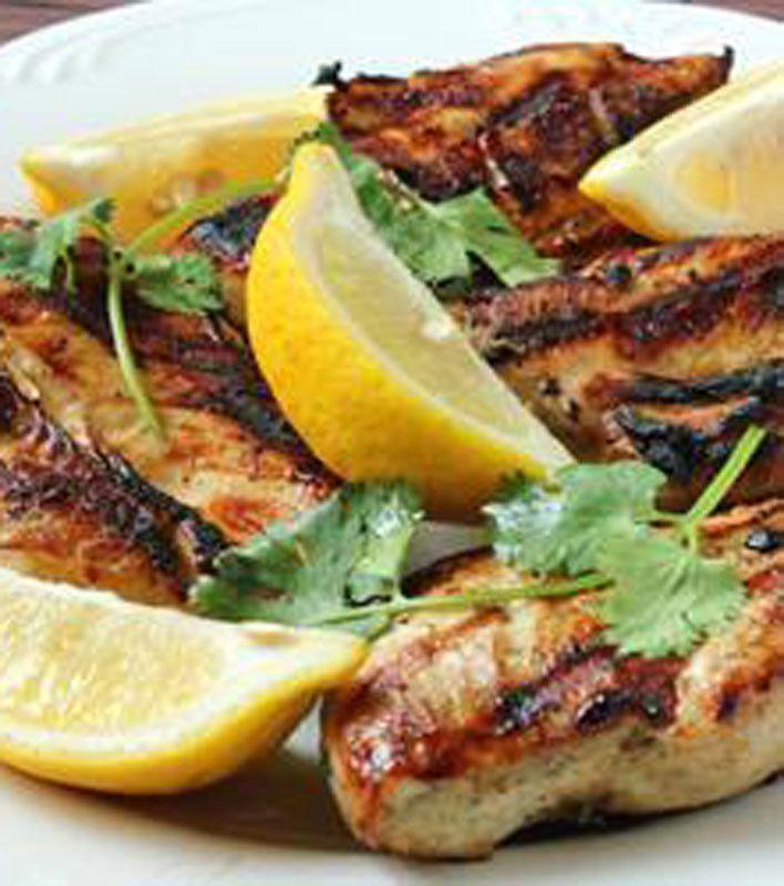 Lemon Chicken Mediterranean Style: Greek Style Garlic Chicken Breast Recipe