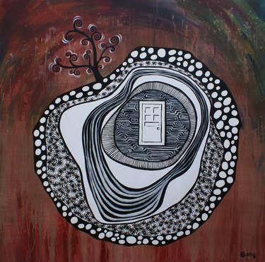 "Saatchi Art Artist Esra Kizir Gokcen; Painting, ""Progression"" #art"