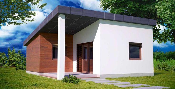 moderna chata 3D / little modern house