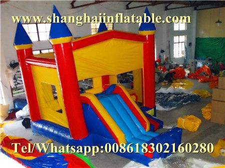commercial bounce houses pvc china bouncing castle