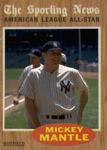 Mickey Mantle New York Yankees