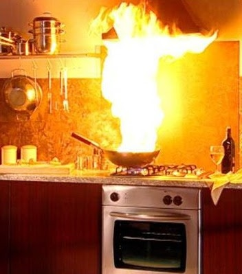 Amazing Kitchen Disasters Illustration - Home Design Ideas and ...