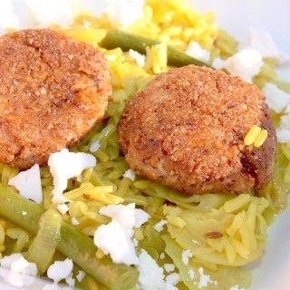 Uniquely South African Pilchard frikkadel paella by #freshlyblogged contestant Nanima #picknpay #recipe