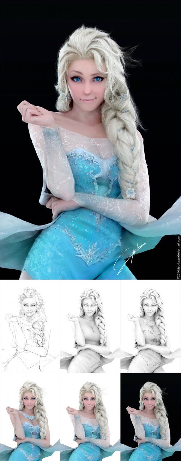 Holy Crap: This Elsa Cosplay Isn't Cosplay