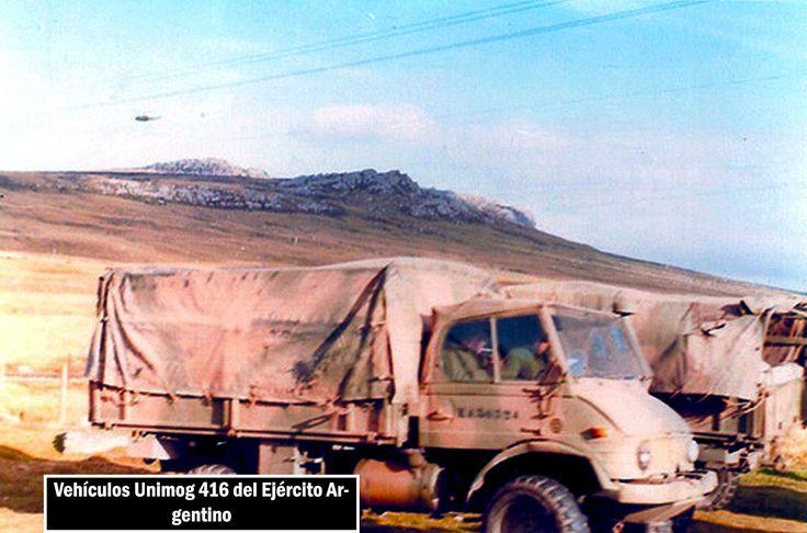 Argentine Unimog 416, Falklands War.
