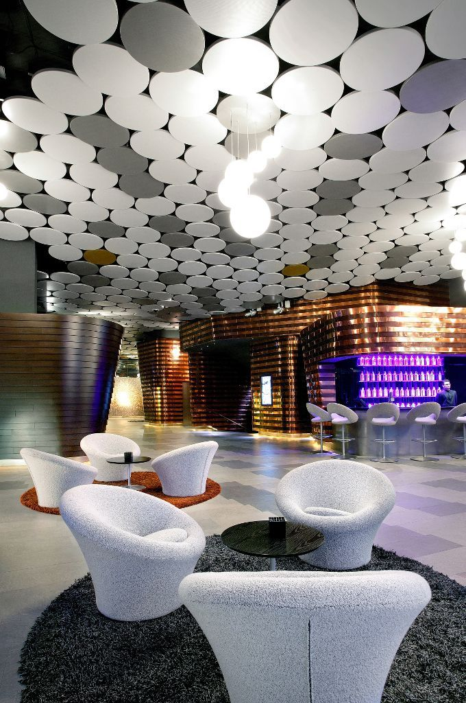 Hotel Silken Diagonal, Armstrong Sufity Podwieszane, ceiling, sufit akustyczny, acoustic, hotele