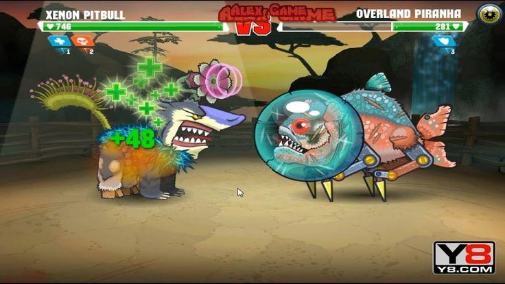 Mutant Fighting Cup 2 (South America Cup 7) Xenon Pitbull VS Overland Piranha (Dog Part 67)