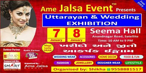 ALSA LIFESTYLE EXHIBITION !!!! BIG HOARDINGS are all set to be fixed and flaunt the streets of Ahmedabad….. WITNESS the New Year's FIRST LIFESTYLE EXHIBITION for FESTIVE SHOPPING… 7 -8 JANUARY, 2017 @Seema Hall, Ahmedabad. Watch out this space for more updates. #jalsa_hi_jalsa #lifestyle #hoarding #luxury_products #fashion #Accessories #Apparel #jalsaaholics