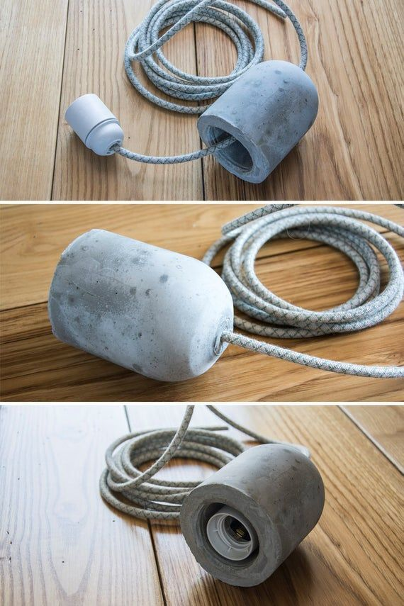 Douille en béton, douille en béton | Selbermachen beton