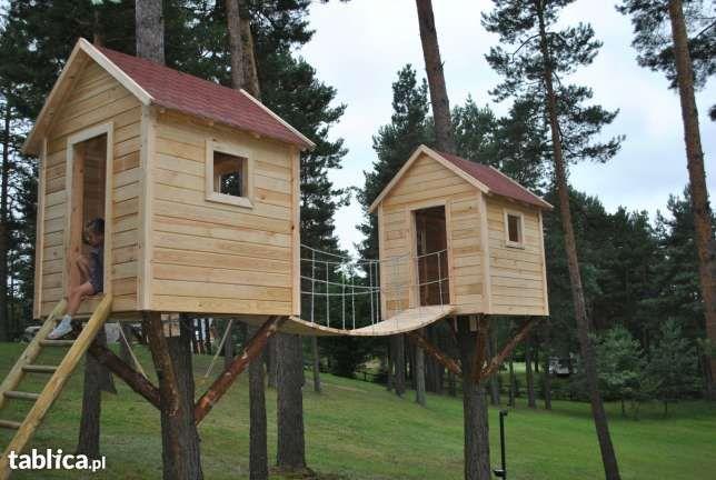 Placna  zabaw Domki dla dzieci Domek na drzewie domek ławki altany w Szczytnie - image 1