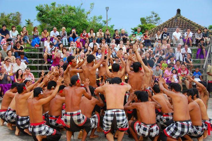 you can enjoying kecak dancer uluwatu bali, temple dan other. come here