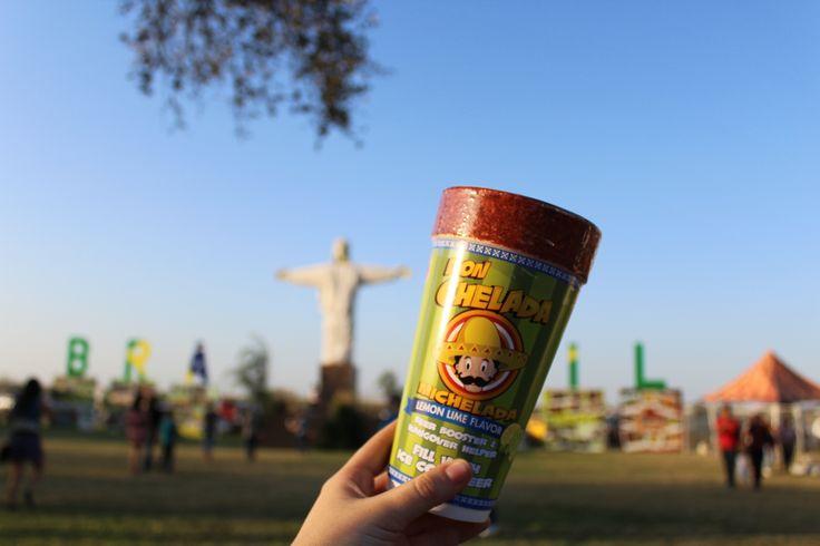 Take your Don Chelada Michelada cups to a festival