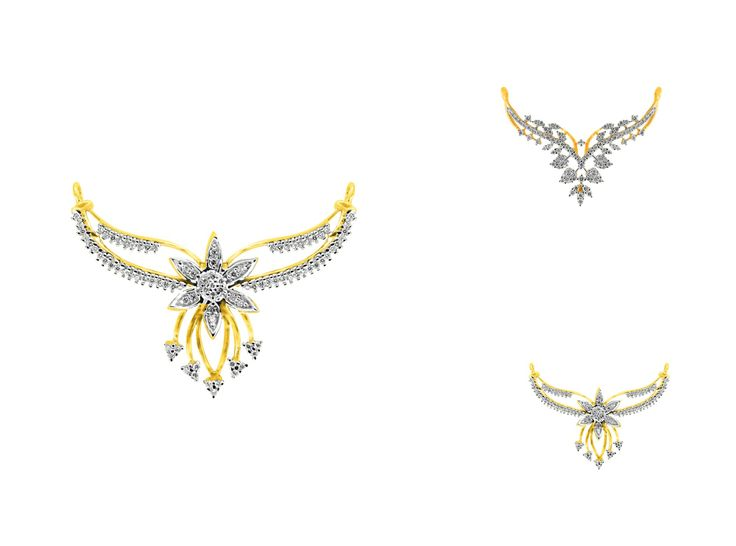 The new #mangalsutra collection #tanmaniya is here!! Check it out on www.jpearls.com . Only at #jpearls