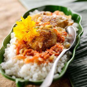 Poulet yassa (cuisine actuelle).