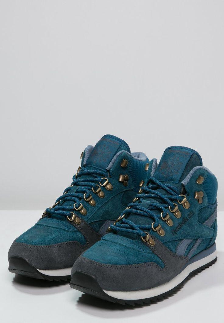 Reebok Classic Zapatillas altas - botanic blue/graphite - Zalando.es