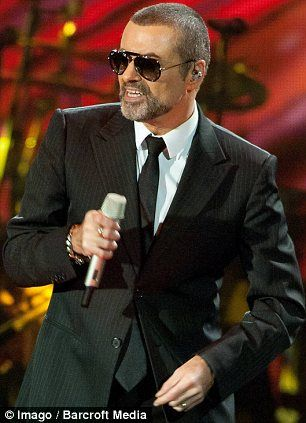 George Michael performing on November 17 in Germany, shortly before he fell seriously ill