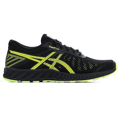 Asics #fuzex lyte mens #running trainer shoe #black/ yellow, View more on the LINK: http://www.zeppy.io/product/gb/2/252419249525/