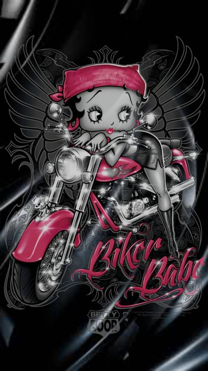 Betty Boop Motorcycle Biker Betty Boop Boop Betty Boop Tattoos
