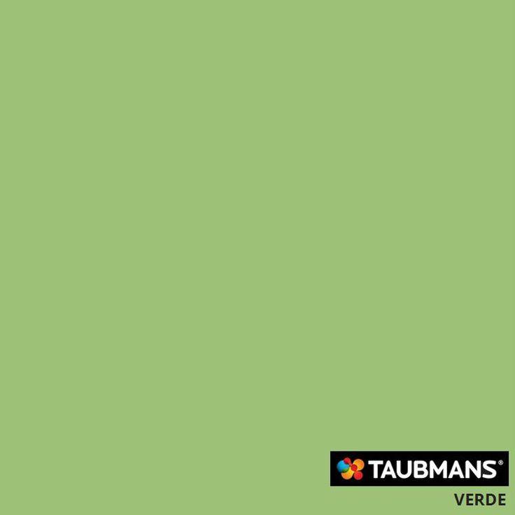 #Taubmanscolour #verde