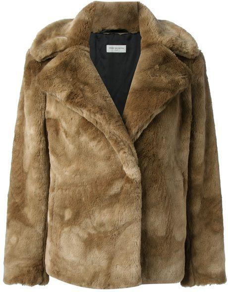Осенние меховые куртки