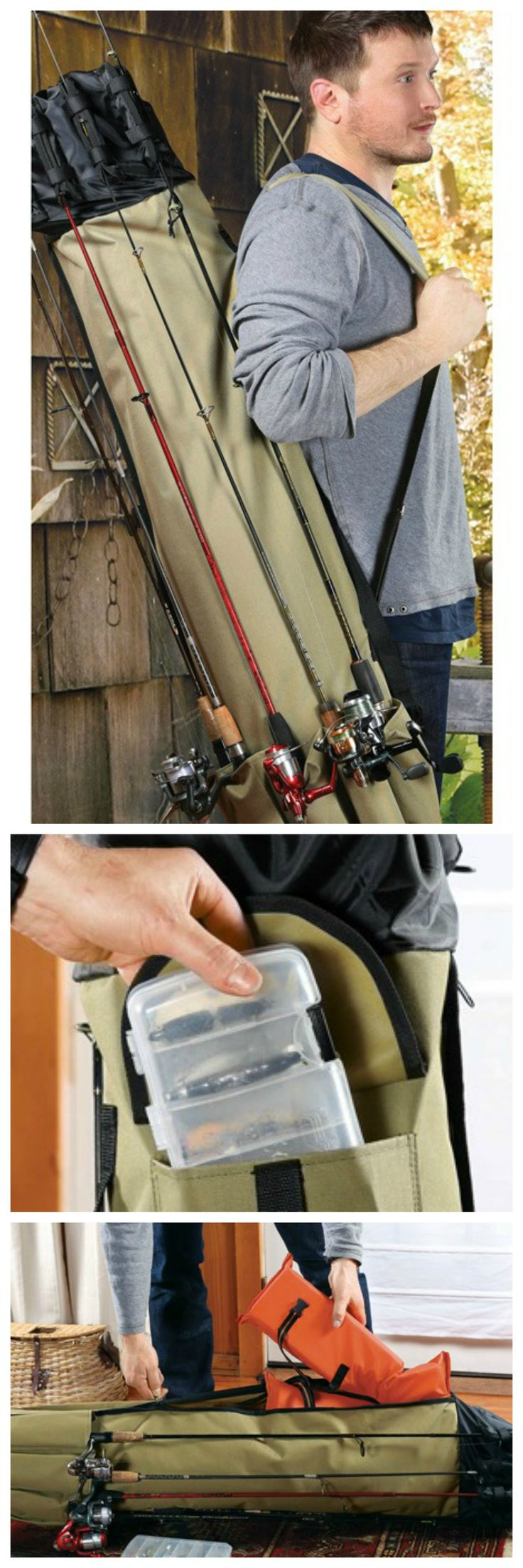 How to store Fishing Rods - Fishing Rod Carrying Case!