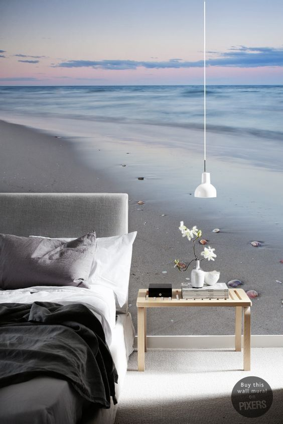 Tijdens je dromen reis je naar de verste plekken op onze aardbol. Laat dit origineel fotobehang je inspireren om weg te dromen.